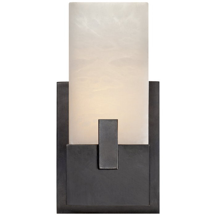 Covet Short Clip Bath Sconce - Bronze