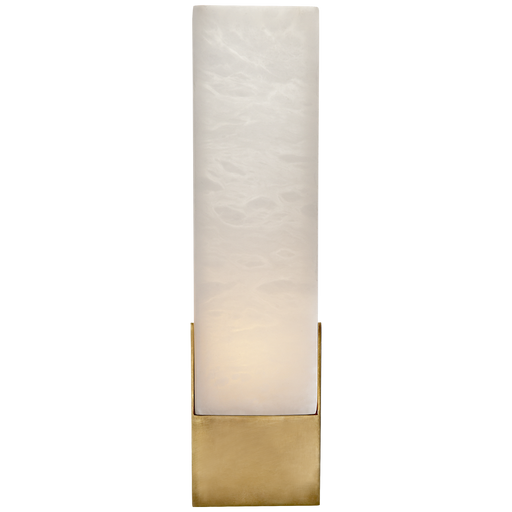 Covet Tall Box Bath Sconce - Antique Burnished Brass