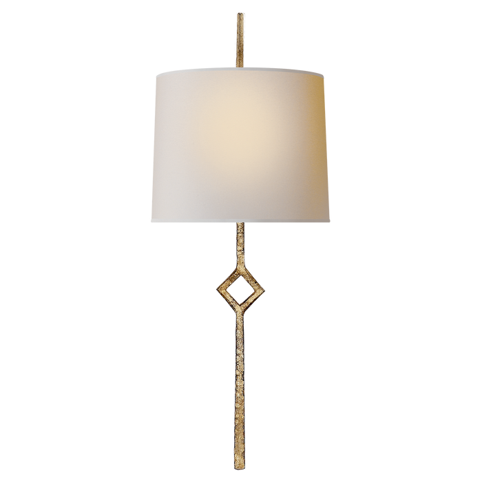 Cranston Small Sconce - Gilded Iron Finish