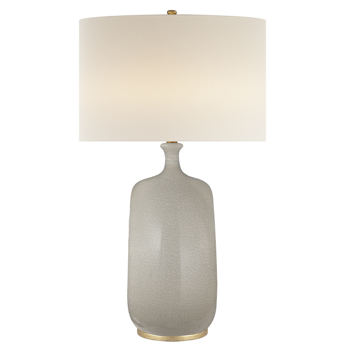 Culloden Table Lamp - Bone Craquelure