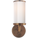Cylinder Sconce - Hand-Rubbed Antique Brass