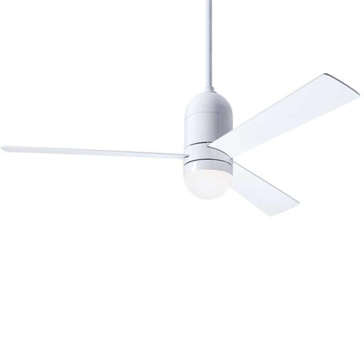 Cirrus DC Ceiling Fan - White (LED Light)