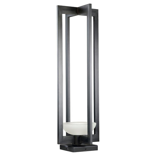 Delphi Outdoor Wall Sconce - Black Iron