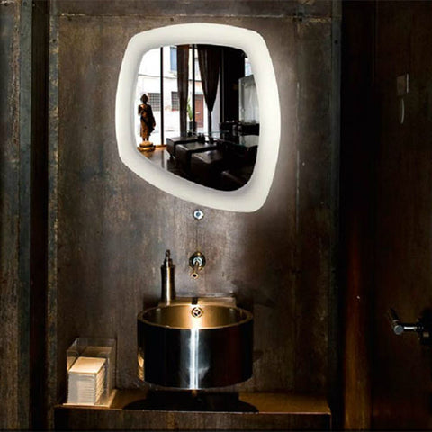 DISH MIRROR WALL LAMP