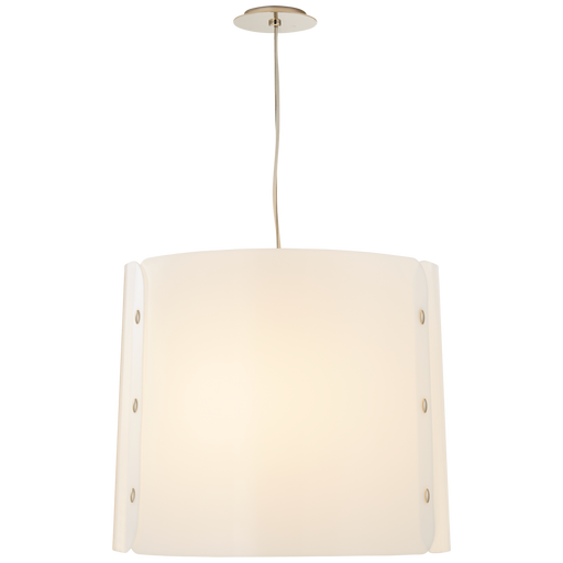 Dapper Medium Hanging Shade - Polished Nickel