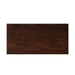 Muto LED Pendant - Dark Stained Walnut Finish