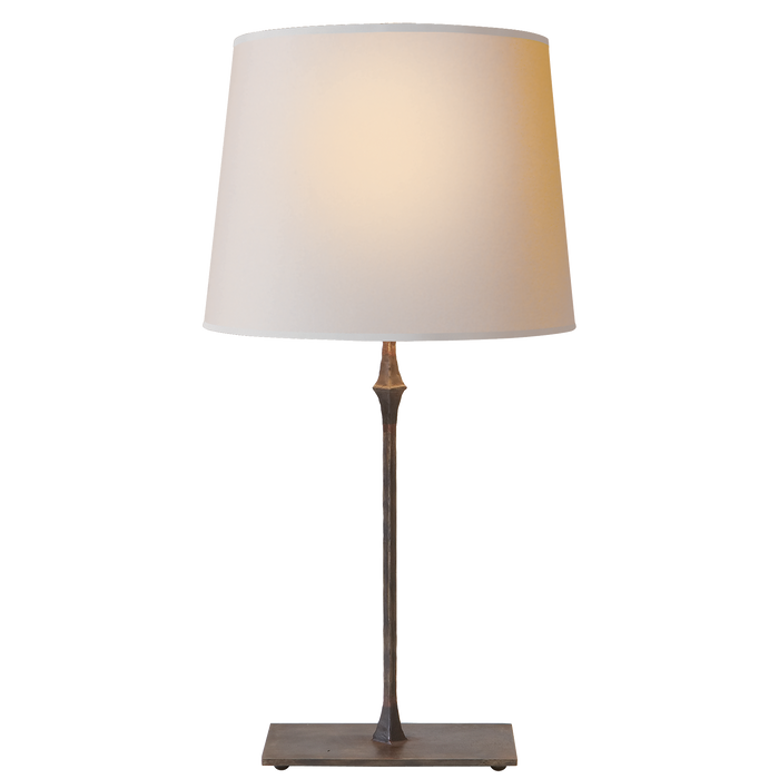 Dauphine Bedside Lamp - Aged Iron Finish