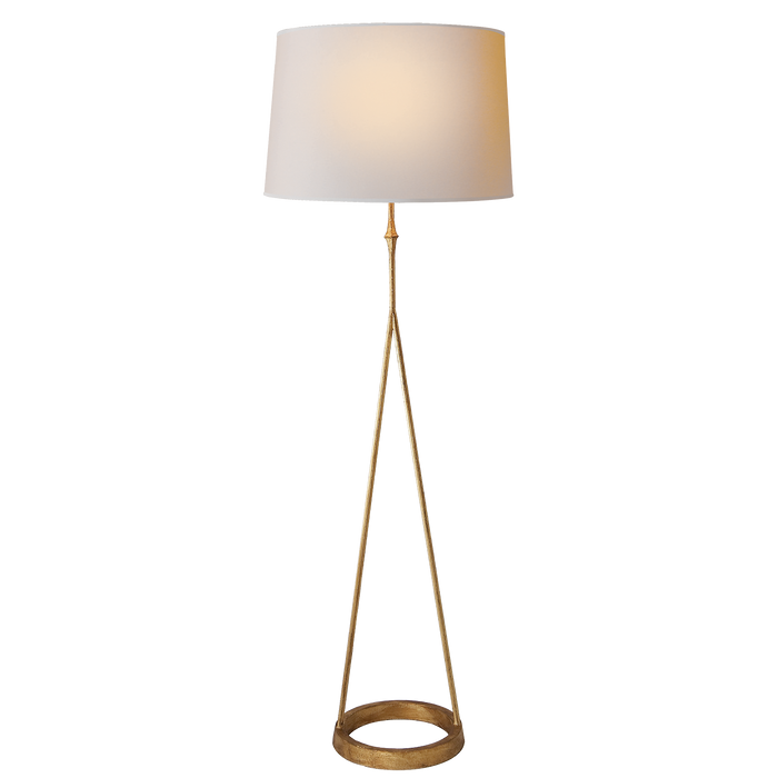Dauphine Floor Lamp - Gilded Iron Finish