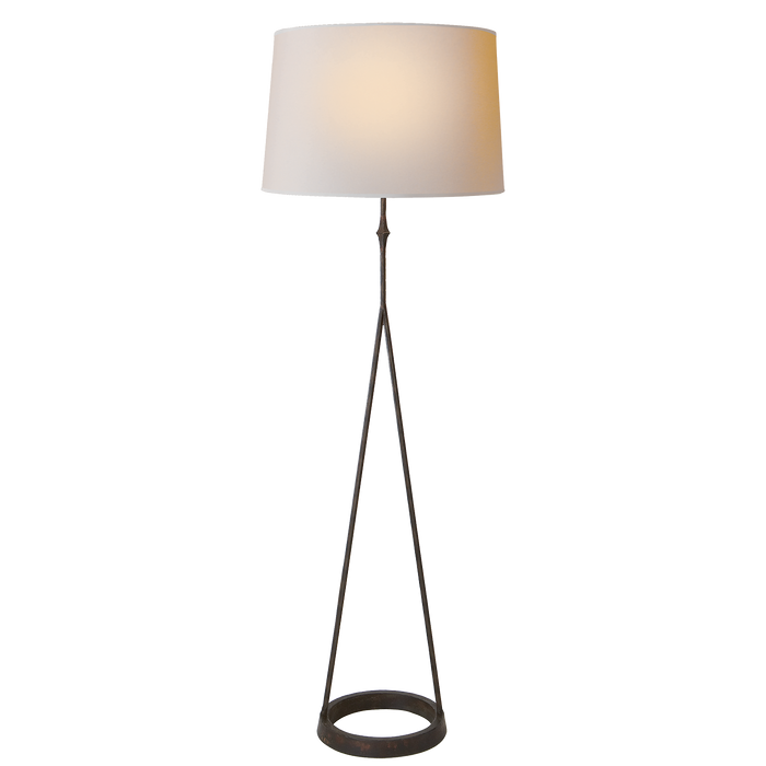 Dauphine Floor Lamp - Aged Iron Finish