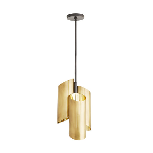 Davis Pendant - Antique Brass Finish