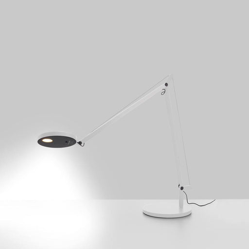 Demetra LED Table Lamp - White Finish