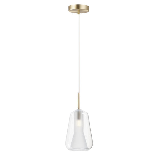 "Deuce 11"" LED Pendant - Satin Brass"