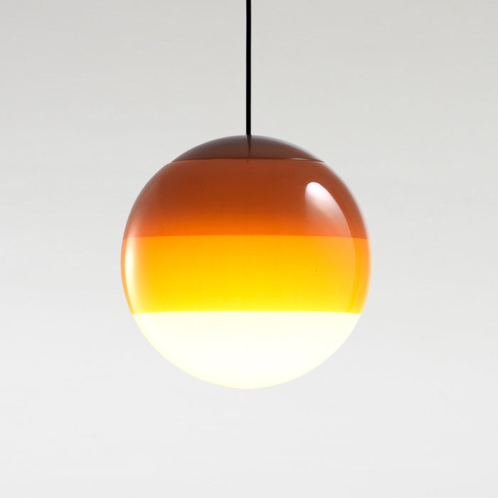 Dipping Large Pendant - Amber Finish