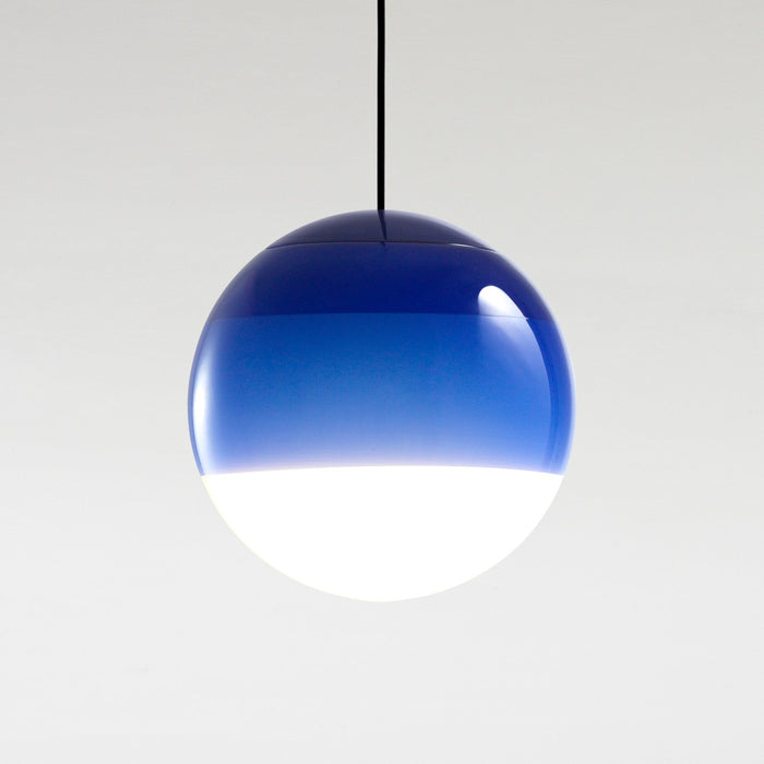 Dipping Large Pendant - Blue Finish