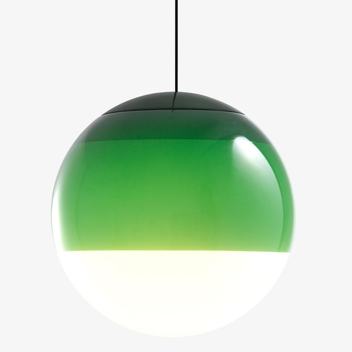 Dipping Large Pendant - Green Finish