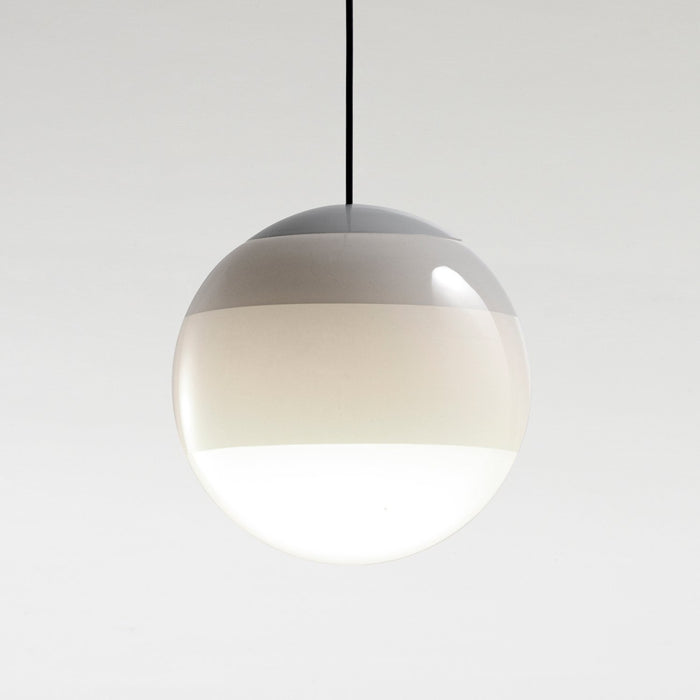 Dipping Large Pendant - Off White Finish