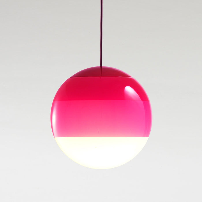 Dipping Large Pendant - Pink Finish