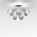 Discoco Ceiling Light - White Finish