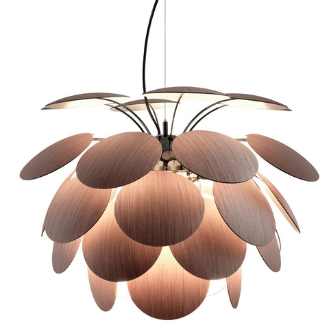 Discoco Wood Pendant - Wood Finish