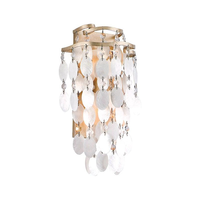 Dolce Small Wall Sconce - Champagne Leaf Finish