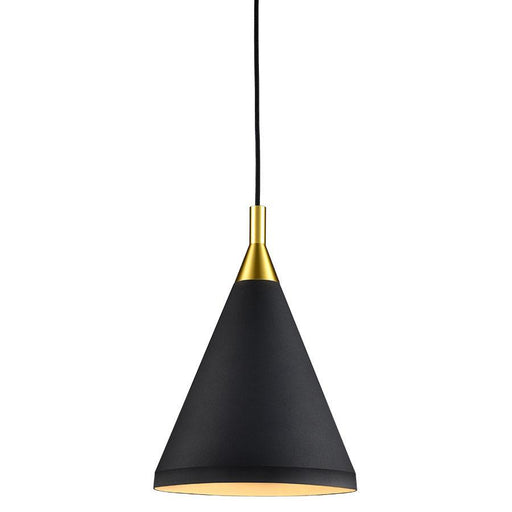 Dorothy Tall Pendant - Black (Small)