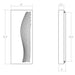 Dotwave Rectangle LED Outdoor Wall Sconce - Diagram