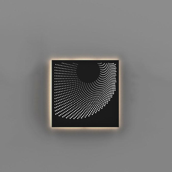Dotwave Square LED Outdoor Wall Sconce - Display
