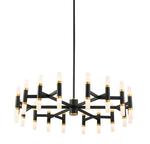 "Draven 32.5"" Chandelier - Black"