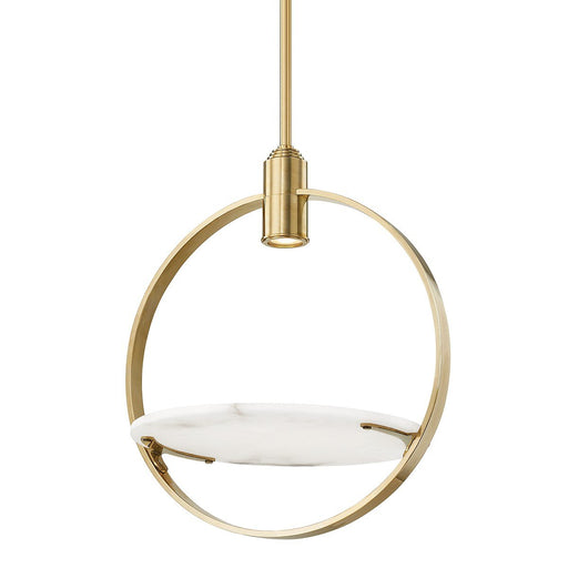 Dreyer Pendant - Aged Brass