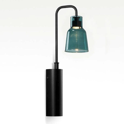 Drip Wall Lamp - Green Glass