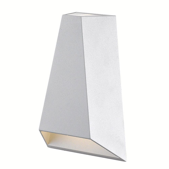 Drotto LED Outdoor Wall Sconce - White Finish