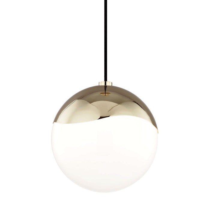 "ELLA 10.5"" PENDANT Polished Brass"