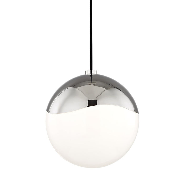 "ELLA 10.5"" PENDANT Polished Nickel"