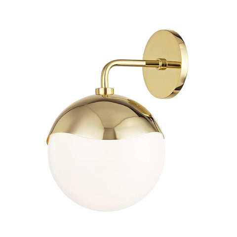 ELLA WALL LIGHT Aged Brass