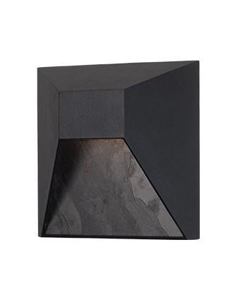 EW53908 LED Outdoor Wall Sconce - Black