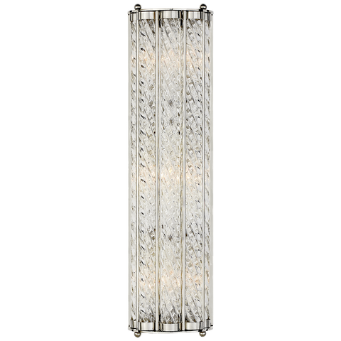 Eaton Linear Sconce Polished Nickel