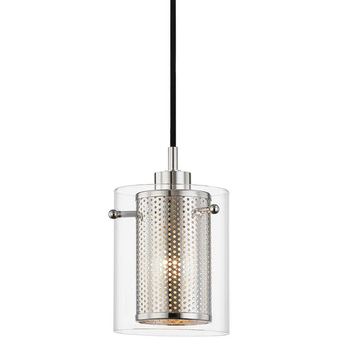 Elanor Pendant - Polished Nickel