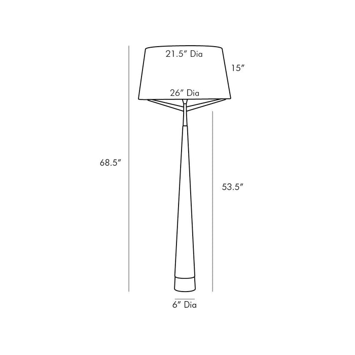 Elden Floor Lamp - Diagram