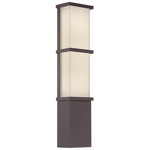 Elevation Large Outdoor Wall Light - Bronze Finish