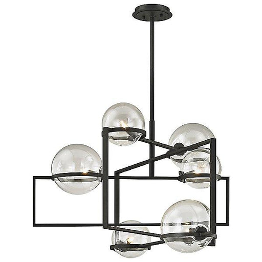 Elliot 6-Light  Pendant - Textured Black Finish