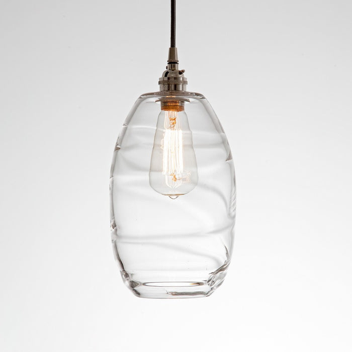 Ellisse Multipoint Pendant - Metallic Beige Silver/Optic Clear