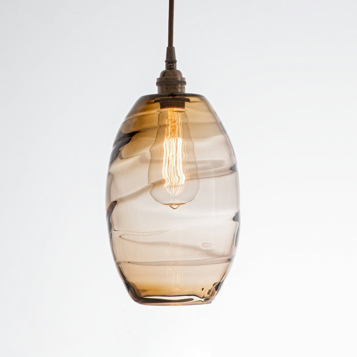 Ellisse Multipoint Pendant - Flat Bronze/Optic Bronze