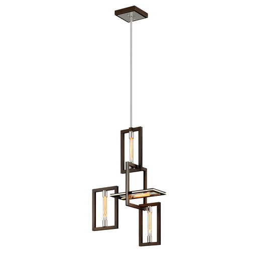 Enigma 4-Light Pendant - Bronze Finish