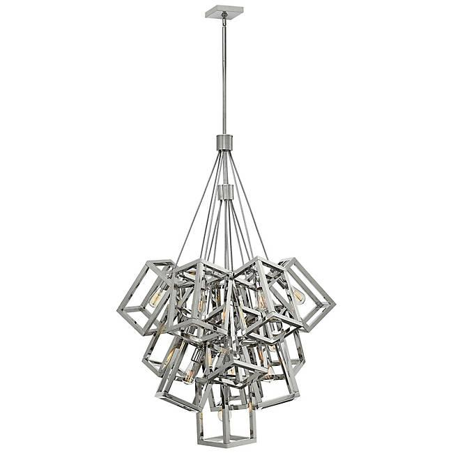 Ensemble 13-Light Pendant - Polished Nickel