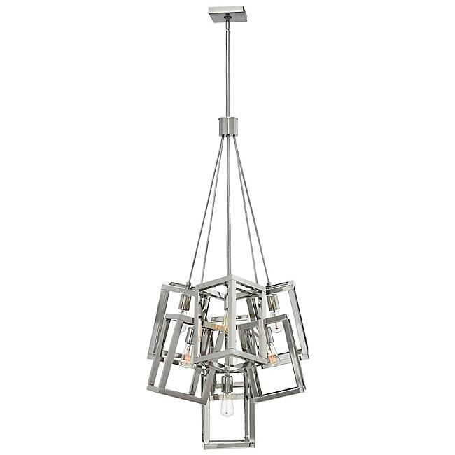 Ensemble 7-Light Pendant - Polished Nickel