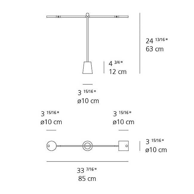 Equilibrist LED Task Lamp - Diagram