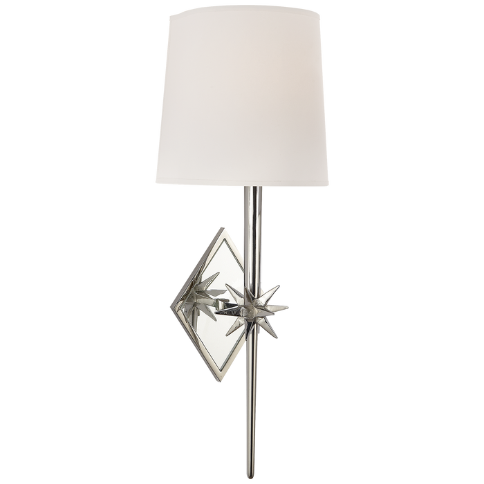 Etoile Sconce Polished Nickel