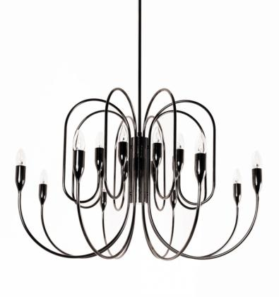 FREEDOM CHANDELIER Black