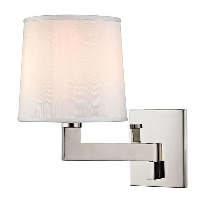 "Fairport 7.5"" Wall Sconce - Polished Nickel"
