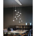 Fairy LED Multi-Light Linear Suspension - Display